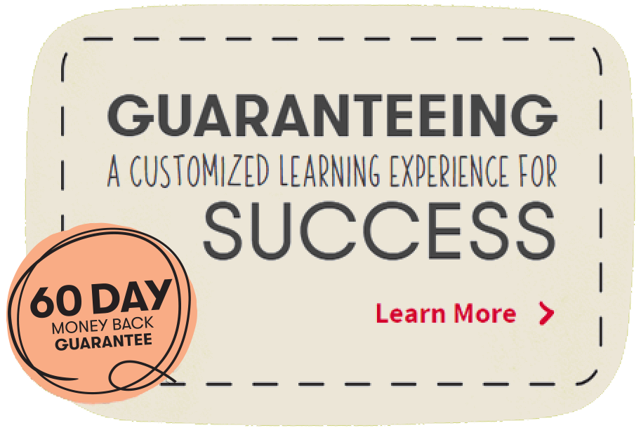 guaranteeing a customized learning experience for success